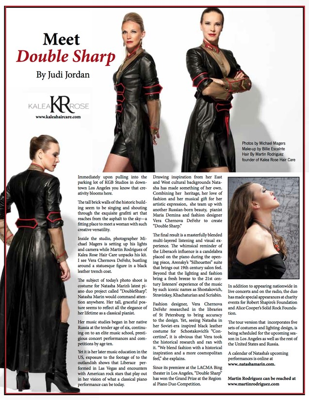 Meet Double sharp hair by Martin Rodriguez#kalearose haircare-By Judy Jorday