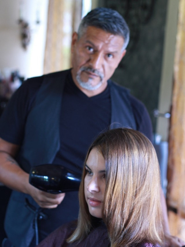 Fall and Winter Organic Colure hair color With Martin Rodriguez