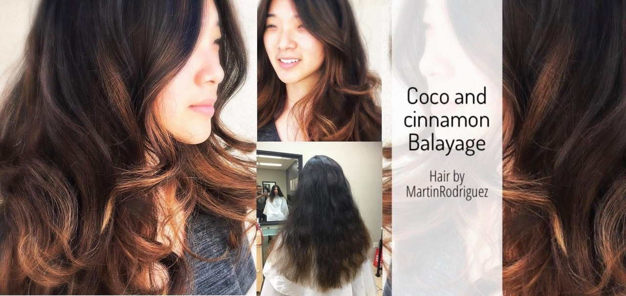 hair color correction on dark hair by Martin Rodriguez