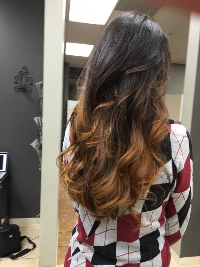 california girl hair color
