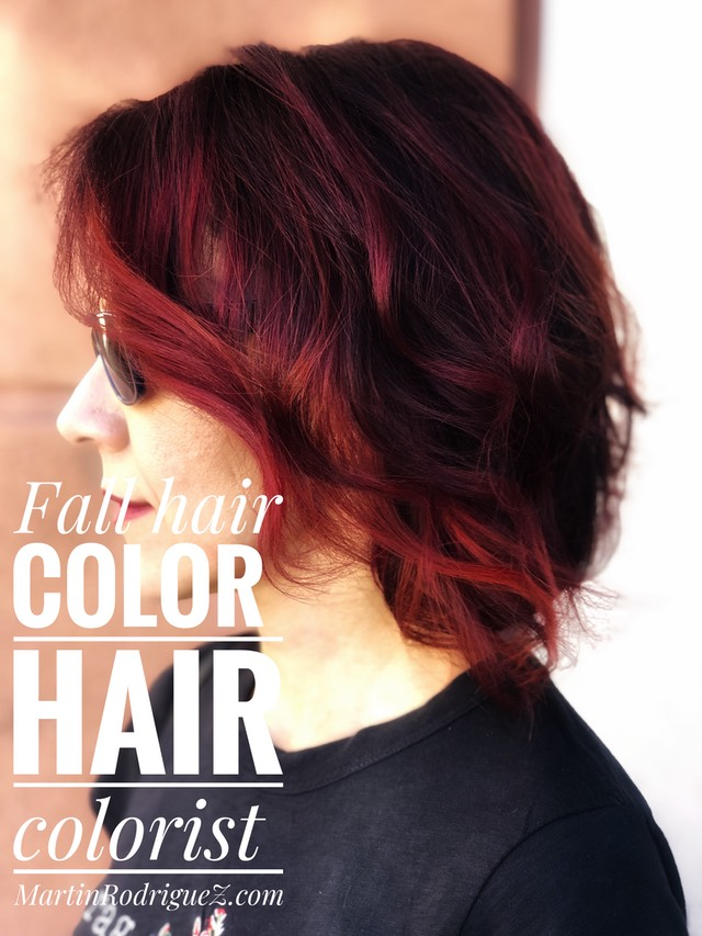 Fall red hair 2018