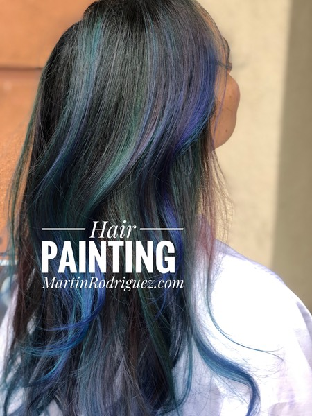 Hair color art by MartinRodriguez Chromastics hair color