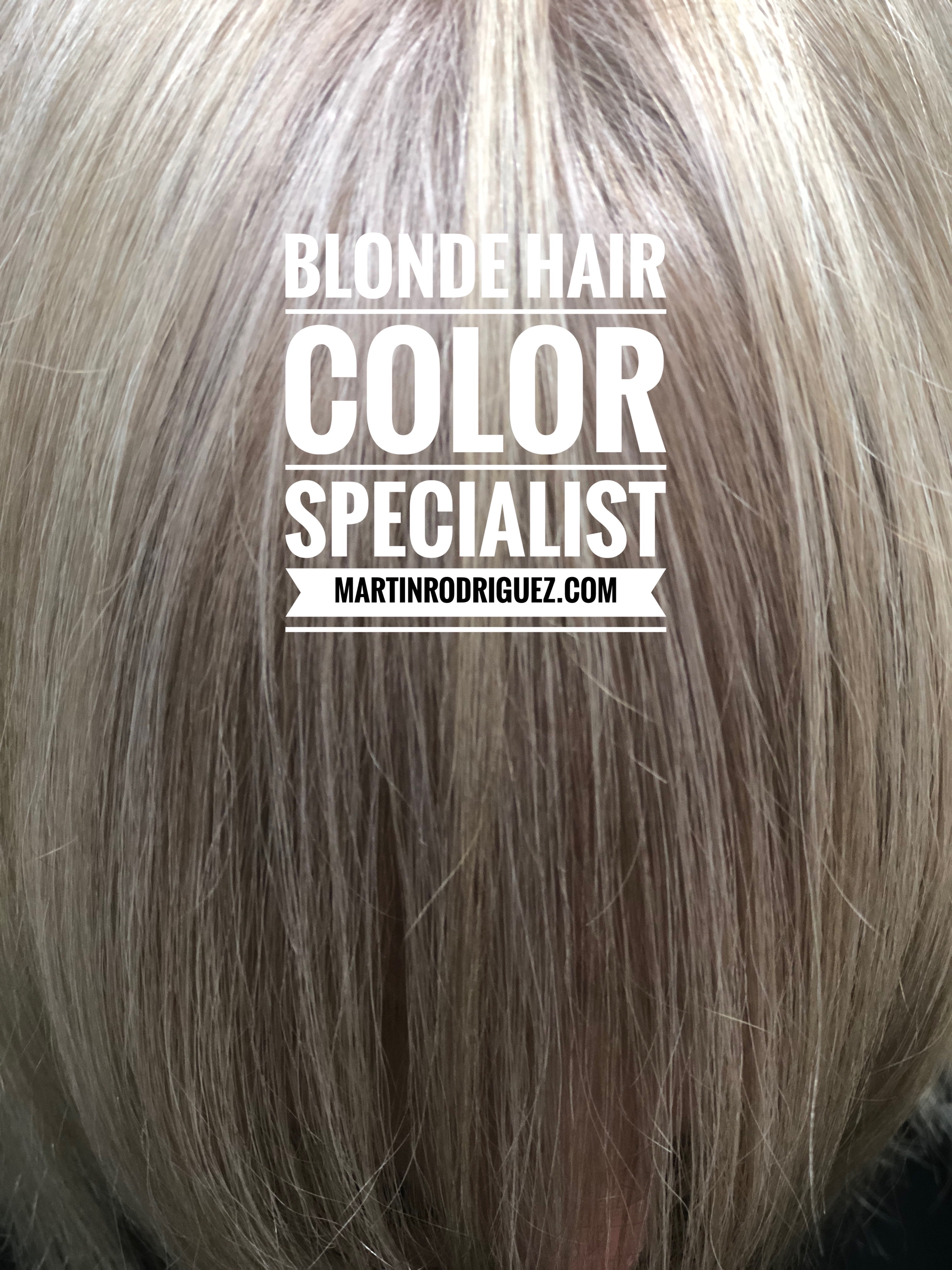 White Blonde Color For Hair Hair Colorist Martin Rodriguez Ooh