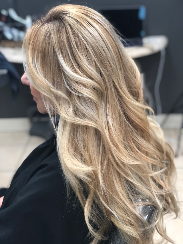 Beach Blonde Hair Color Pictures Unique Newport Stylist Correction Stripe Foil
